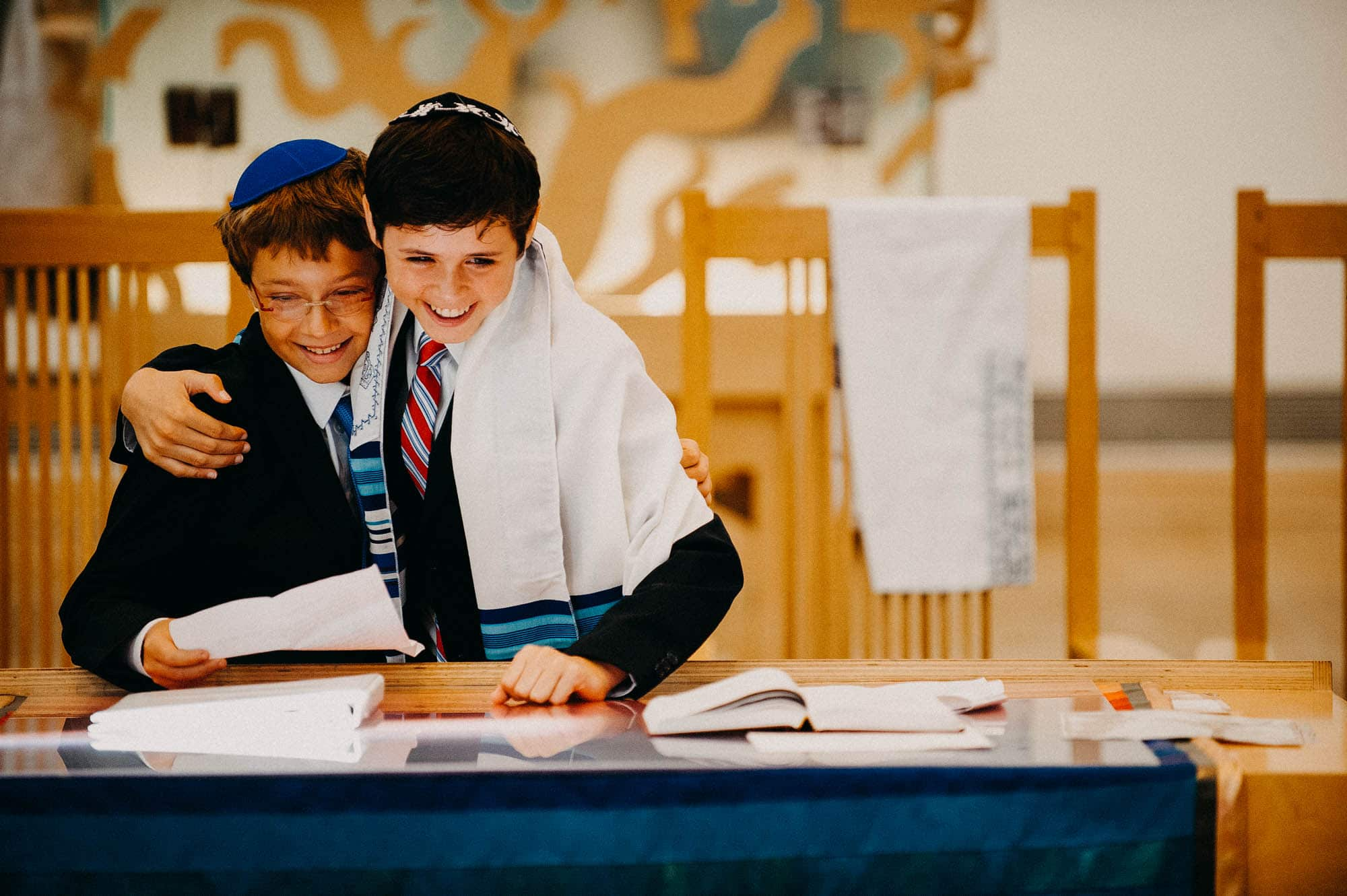 Kehillat Israel Bar Mitzvah photo Pacific Palisades